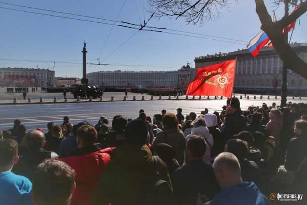 День Победы в Петербурге. Онлайн-трансляция