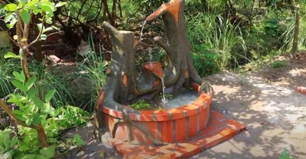 Как сделать своими руками декоративный пруд с водопадом