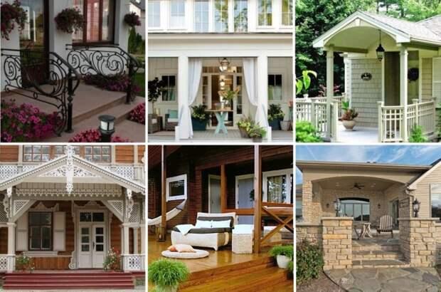 Новое крыльцо должно гармонировать с общей стилистикой всего строения и даже двора.   Фото: landshaftportal.ru.