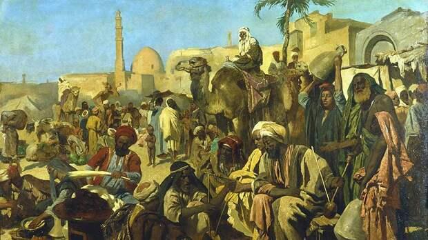 Каирские рыночные торговцы заработали на Мунсе Мусе дважды, безбожно завышая цены и одалживая деньги под большой процент