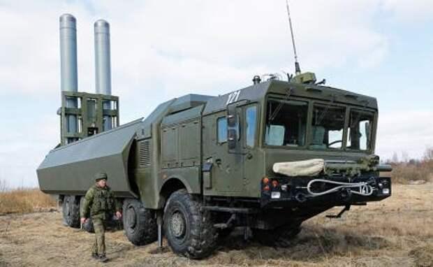 """На фото: береговой ракетный комплекс """"Бастион"""""""