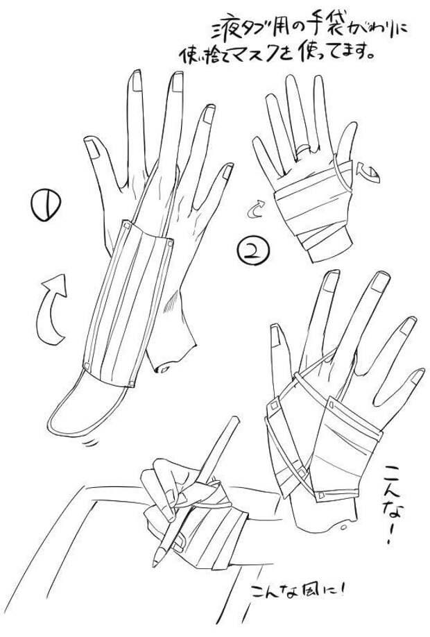 Замена перчатки для планшета