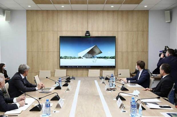 Сергей Галицкий показал проект реконструкции «Авроры»