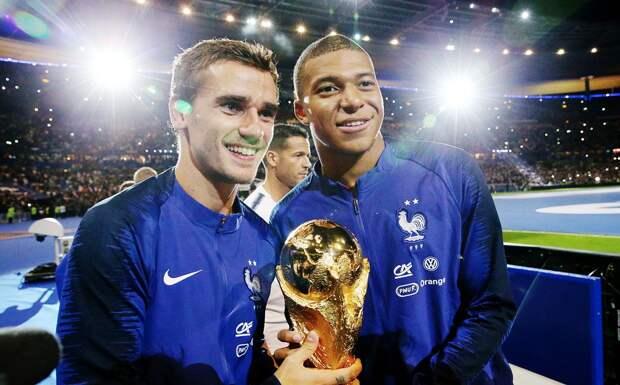 Мбаппе догнал Гризманна по голам в Лиге чемпионов среди французов. Больше только у Бензема, Анри и Трезеге