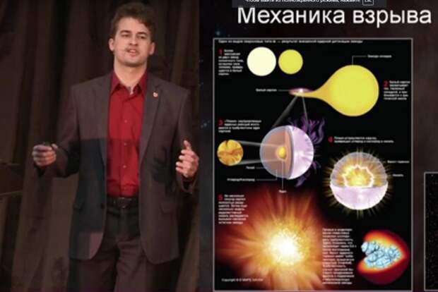 Термоядерный пепел: лекция о взрывах сверхновых звезд