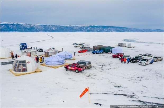 Как круто устроен туалет на зимнем Байкале, чтобы туристы не оставляли свои «подарки» на льду