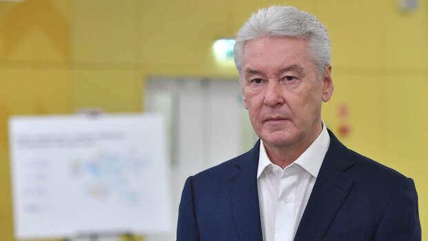 Собянин назвал драматической ситуацию с ковидом в Москве