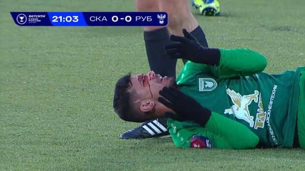Слуцкий снова негодует из-за судейства: кроме игровой сенсации в Хабаровске – еще и жуткая травма казанского игрока, едва не скончавшегося на поле