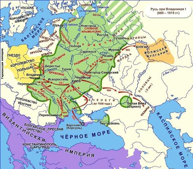 Русь против Польши. Кто первый начал?