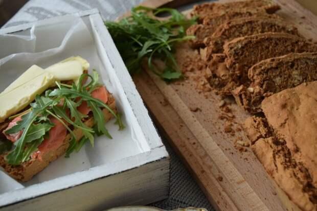 Безглютеновый хлеб с семечками