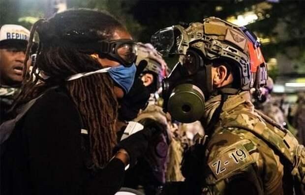 Генпрокурор США предложил обвинять протестующих в подстрекательстве к мятежу