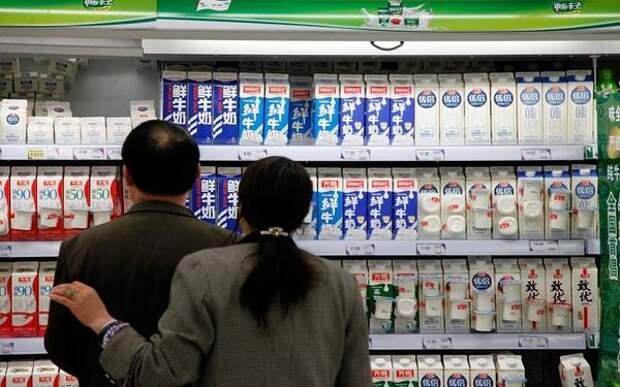 Импорт молочных продуктов в Китай в первом квартале был рекордно высоким