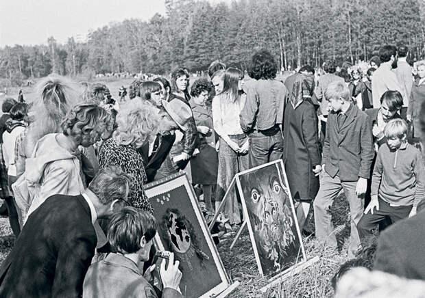 6 фото «Бульдозерной выставки», которая изменила цензуру в СССР всего за минуту