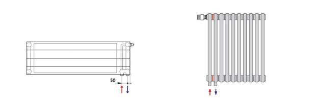 Как подключить радиаторы к системе отопления