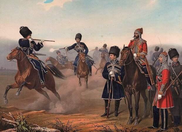Собственный его императорского величества конвой (Геббенс, 1861 год).