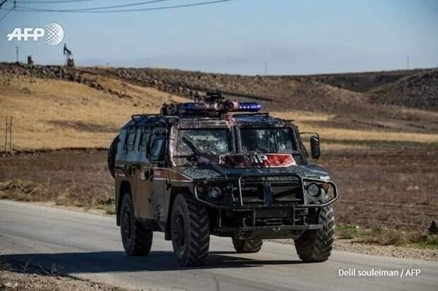 Курды извинились за кидание камней в российский патруль