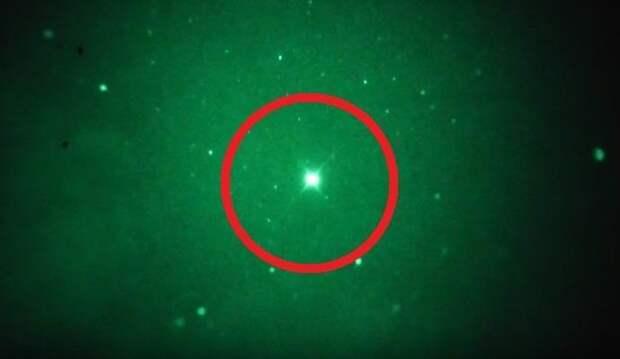 Норвежец снял странный пульсирующий объект в небе