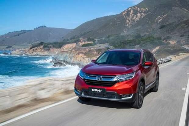 Honda огласила цены на двухлитровый CR-V для России