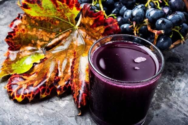 Разгрузочный день на винограде — минус 2 кг за сутки
