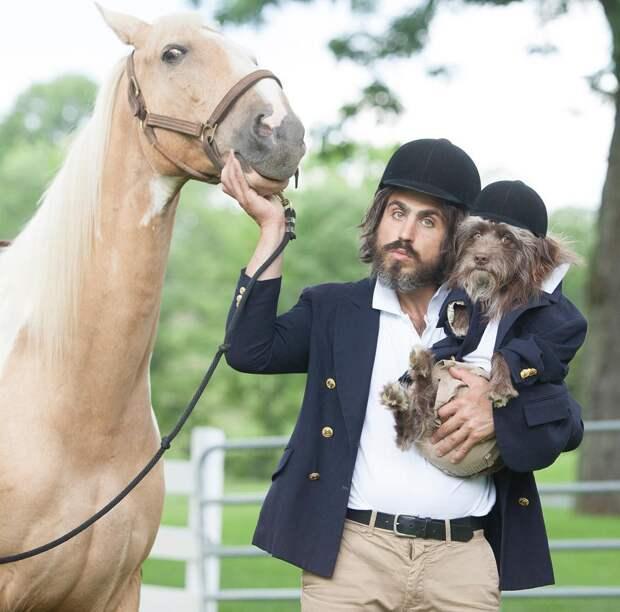 Тофер и Розенберг: Парень и его собака, чрезвычайно похожие друг на друга
