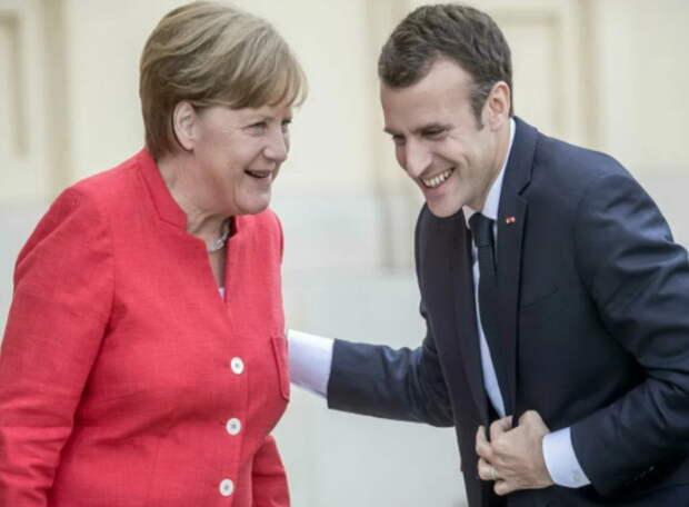 Германия и Франция настроены на продолжении диалога с Россией