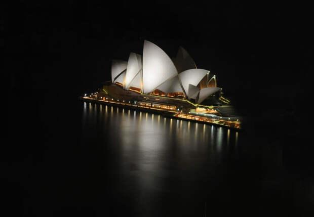 25 мировых достопримечательностей ночью