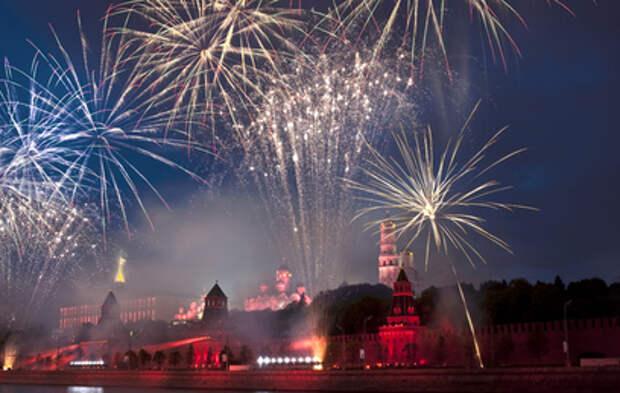 Где в Москве можно посмотреть салют в честь Дня Победы