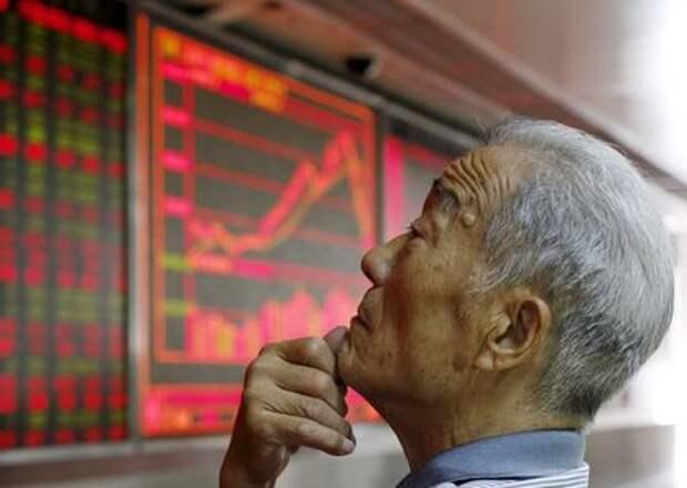 Китайские акции завершили неделю в плюсе, бумаги финкомпаний выросли