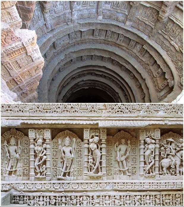 Храмовый комплекс Рани-ки-Вав является настоящей жемчужиной древнего искусства (Индия).