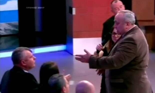 """Клинцевич жёстко вывел Трюхана из студии """"Время Покажет"""" (видео)"""