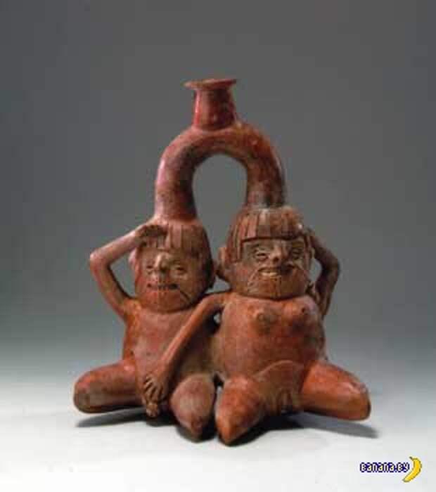 Порнографическая посуда цивилизации Моче