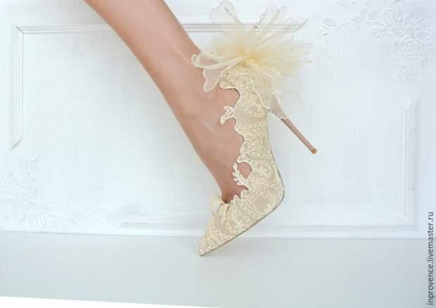Свадебные туфли своими руками (Diy)
