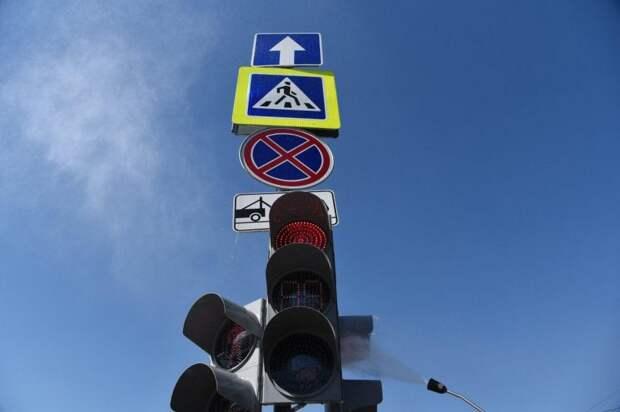 Собянин открыл две новые автомобильные дороги в ТиНАО Фото Агентства Москва