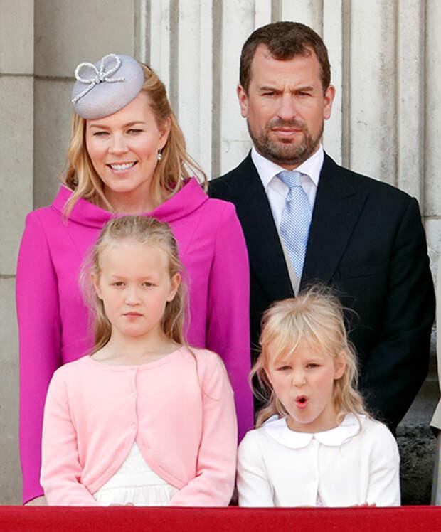 Расставание затянулось: внук королевы Елизаветы II Питер Филлипс и Отэм Филлипс не могут развестись больше года