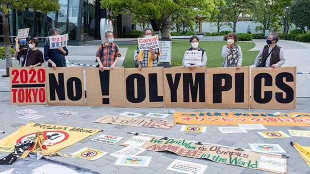 Японцы выступают против проведения Олимпийских Игр в Токио