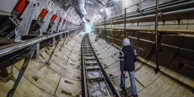 Собянин рассказал о строительстве северо-восточного участка БКЛ метро