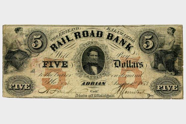 История американского доллара, главной валюты мира, который раньше был ничем