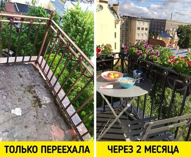 18 человек, которые так преобразили свои балконы, что хочется аплодировать им прямо с улицы