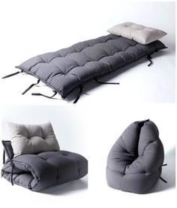 Мягкие кресла-лежанки (подборка)