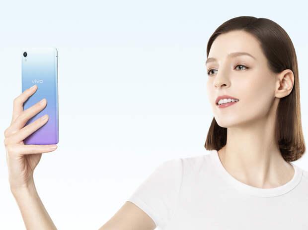 Представлен бюджетный смартфон Vivo Y1s