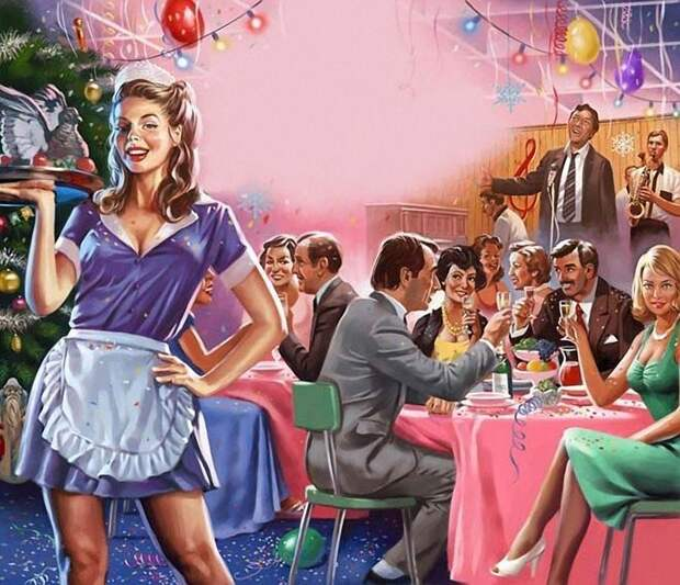 Новый год в Плакучей иве