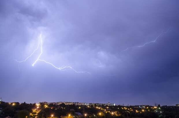 Дожди и грозы ожидаются в Удмуртии во вторник