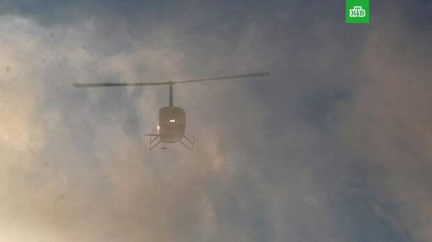 В Архангельской области рухнул вертолет