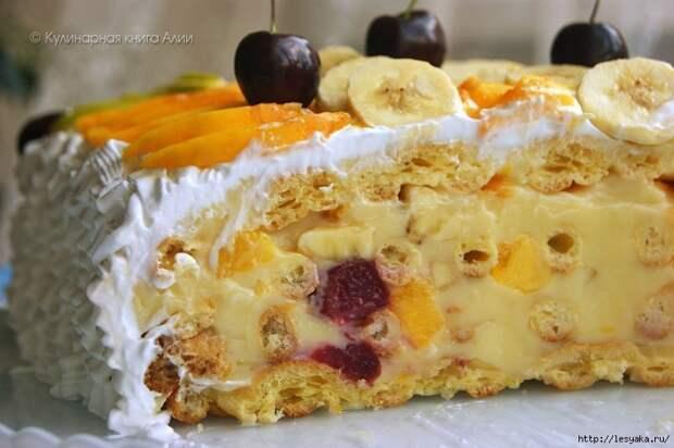 """Оригинальный и вкусный торт """"Тропиканка"""""""
