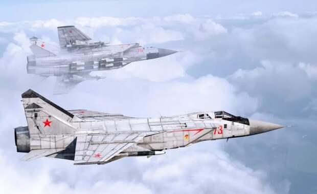Размещение истребителей МиГ-31 в Арктике вызвало беспокойство на Западе