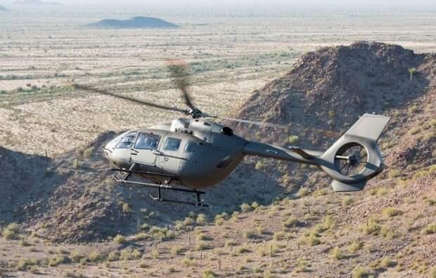 Армия США получит новейшую версию легкого универсального вертолета UH-72B Lakota