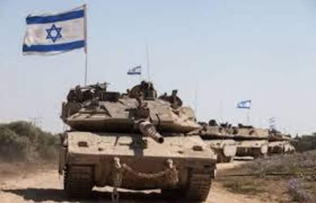 СМИ: Израиль стягивает танки ксектору Газа