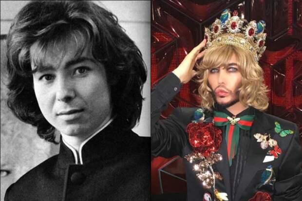 10 российских звезд, кардинально изменивших внешность за время своей карьеры