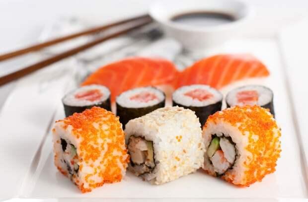 Вредное воздействие суши на человека еда, познавательно, суши