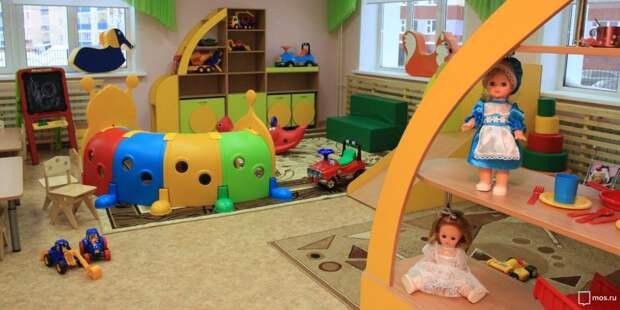 Проект строительства детского сада на месте промзоны «Октябрьское Поле» утвержден